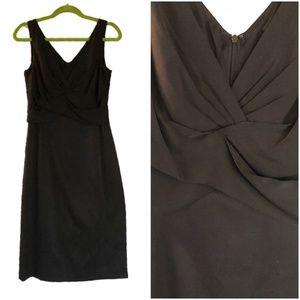 ELIE TAHARI Women's Silk Cocktail Black Dress - 8